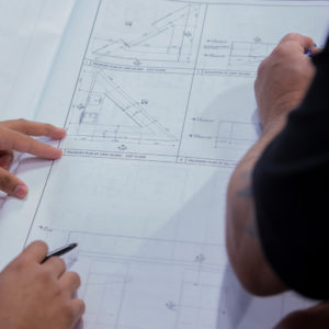 Kundig professionals working on project plans